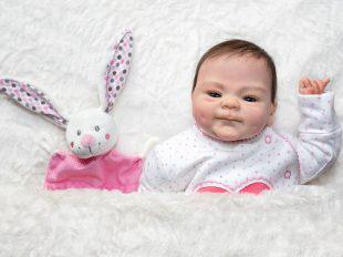 Baby doll with toy