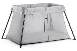 a nice travel crib from BabyBjorn