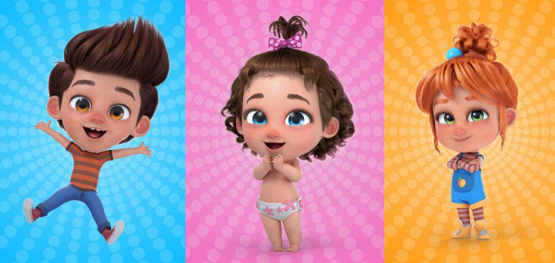 Binki kids characters