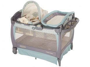 a nice playard from Graco with bassinet