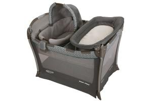 a nice playard from Graco where babies can safely sleep
