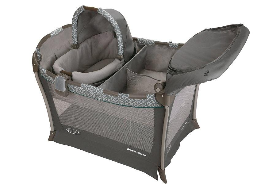 another look at the Graco Day2Night Sleep playard