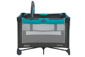 the front side of the Graco on the go playard