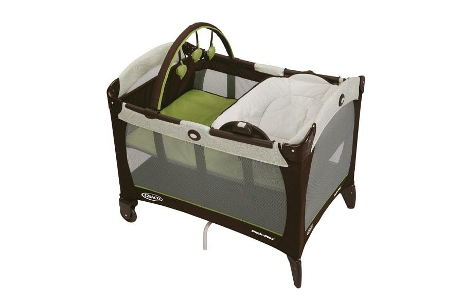 a nice playard with a reversible napper changer