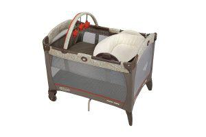 a lovely playard from Graco with reversible napper and changer