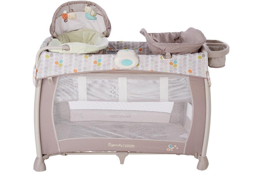 the front side of this wonderful playard with a canopy  sc 1 st  Best Pack n Play & 5 Best Pack u0027n Play Yards with Canopy for Your Baby
