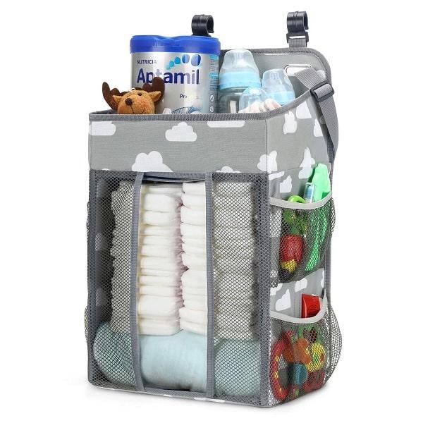 graco pack n play diaper organizer